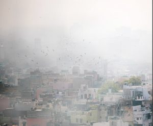main causes of air pollution in Delhi