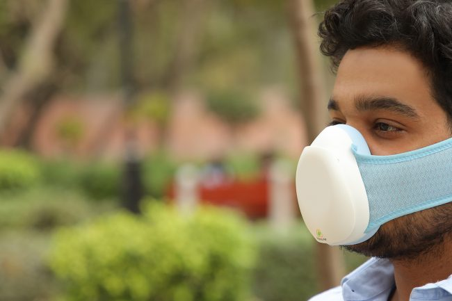 outdoor air mask