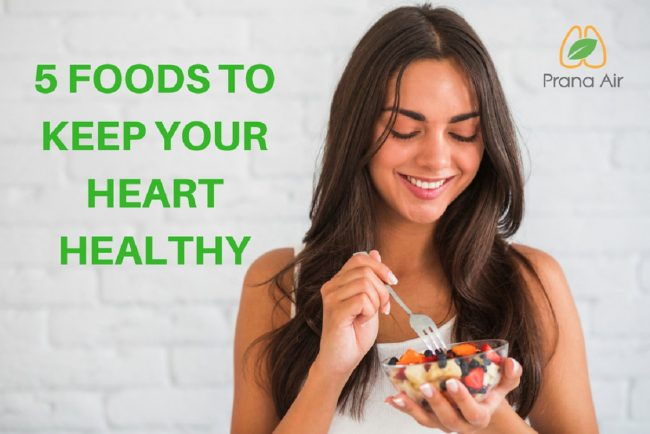5 Healthy Foods For Your Heart