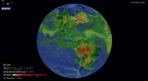AirVisual Earth Map