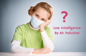 Low Intelligence By Air Pollution