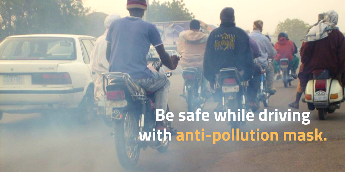 anti pollution mask for bikers india