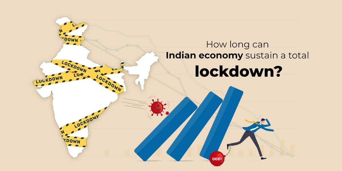 the indian economy in covid19 lock down