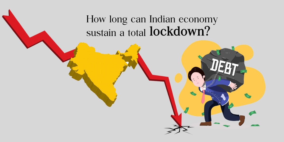 indian economic crisis by covid19 lock down