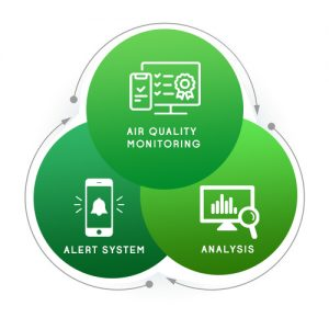 Features of Air Quality Monitoring in a Smart City