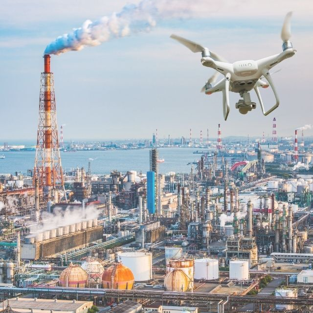 Hyperlocal Air Quality Monitoring with drone