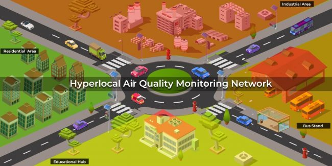 What is Hyperlocal Air Quality Monitoring Network?