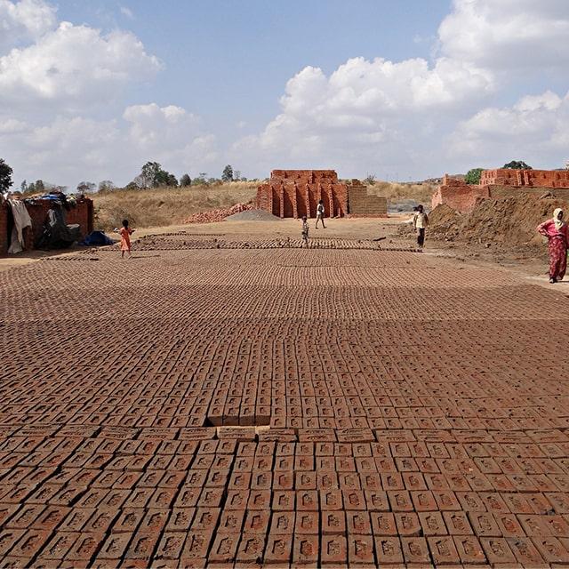 pollution in brickfield