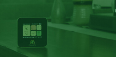 use of co sensor in indoor air quality monitors