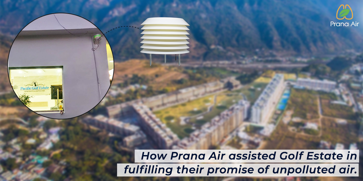 How Prana Air assisted Pacific Golf Estate in fulfilling their promise of unpolluted air.
