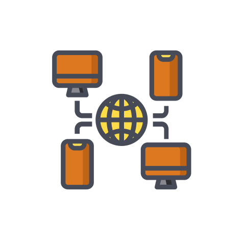 modes of monitor connectivity icon
