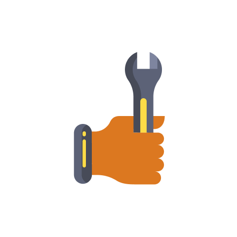 monitor low cost maintenance icon