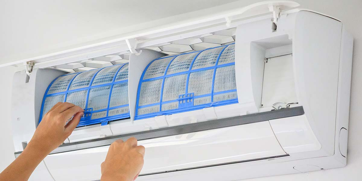 air quality on air conditioner